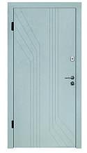 Двери для улицы, серия Элегант, модель СИМФОНИЯ, на гнутом профиле, 2 замка