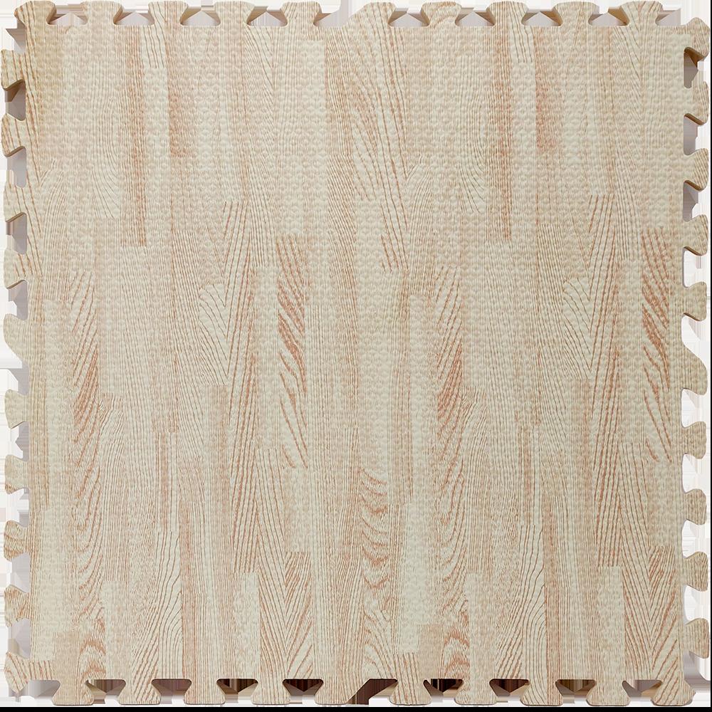 Мягкий пол пазл, модульное покрытие для пола под персиковое дерево 600*600*10 мм