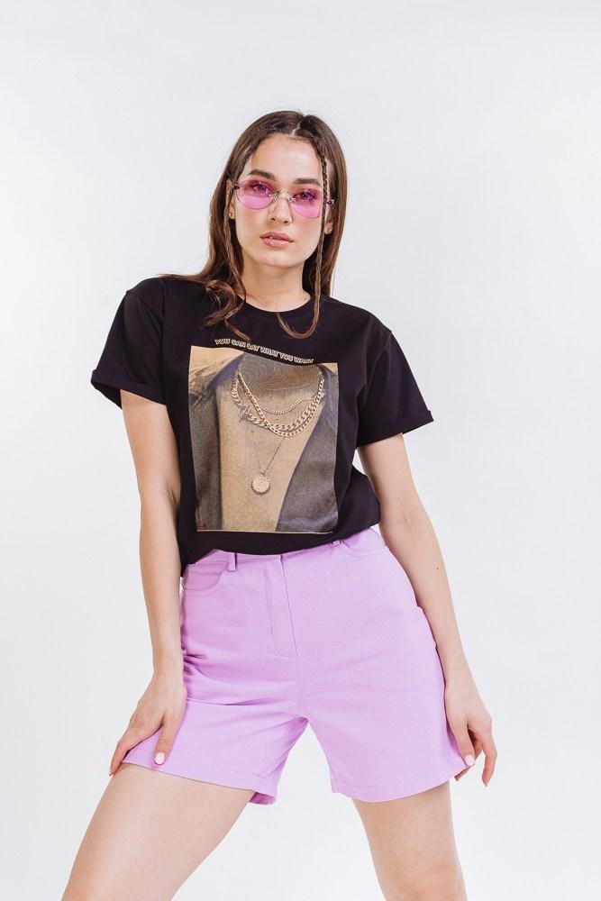 Жіночі короткі шорти коттонові