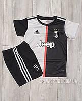 Детская футбольная форма Ювентус (FС Juventus). Сезона 2019-2020.Основная.