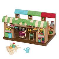 Игровой набор Lil Woodzeez Фермерский рынок 6126Z, КОД: 2428949