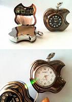 Зажигалка подарочная с часами Apple
