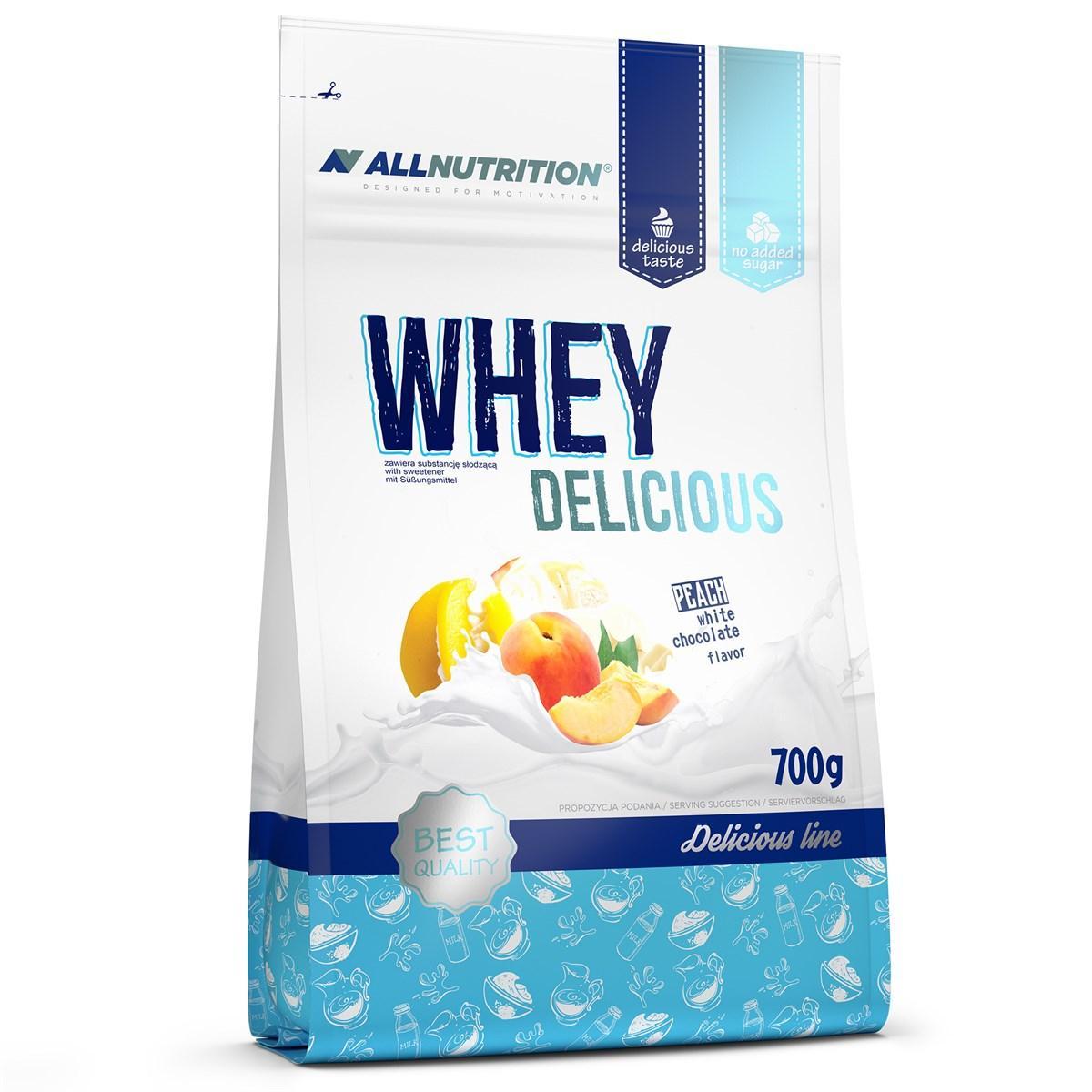 Протеин All Nutrition Whey Delicious, 700 г, Ваниль Клубника Vanilla with Strawberry
