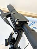 Двоколісний Самокат Best Scooter з 2 амортизаторами і ручним гальмом Червоний, фото 2