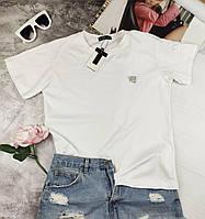 Белая женская футболка Alexander Wang Александр Ванг