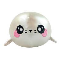 Ароматная мягкая игрушка Squeezamals S3 Тюлень Снежок 9 см SQS00867SN, КОД: 2428307