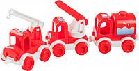 Набор авто Wader Kid Cars Пожарный 39547, КОД: 2431017
