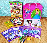 Подарунок випускнику дитячого садка для дівчинки Стандарт + 13 предметів