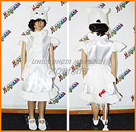 Карнавальный костюм кошечка белая