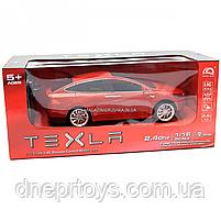 Машинка на радиоуправлении Тесла красная, 1:16, световые эффекты (HQ20149), фото 2