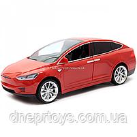 Машинка на радиоуправлении Тесла красная, 1:16, световые эффекты (HQ20149), фото 4
