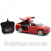Машинка на радиоуправлении Тесла красная, 1:16, световые эффекты (HQ20149), фото 5