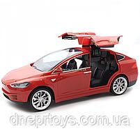 Машинка на радиоуправлении Тесла красная, 1:16, световые эффекты (HQ20149), фото 7