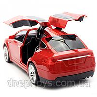 Машинка на радиоуправлении Тесла красная, 1:16, световые эффекты (HQ20149), фото 8