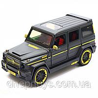 Игрушка машина Автопром Мерседес Бенц (Mercedes-Benz) черный. Гелендваген (Гелик) 20х8х10 см (7688MB), фото 4