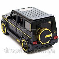 Игрушка машина Автопром Мерседес Бенц (Mercedes-Benz) черный. Гелендваген (Гелик) 20х8х10 см (7688MB), фото 5