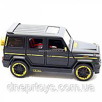 Игрушка машина Автопром Мерседес Бенц (Mercedes-Benz) черный. Гелендваген (Гелик) 20х8х10 см (7688MB), фото 6