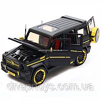 Игрушка машина Автопром Мерседес Бенц (Mercedes-Benz) черный. Гелендваген (Гелик) 20х8х10 см (7688MB), фото 7