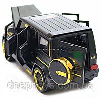 Игрушка машина Автопром Мерседес Бенц (Mercedes-Benz) черный. Гелендваген (Гелик) 20х8х10 см (7688MB), фото 8