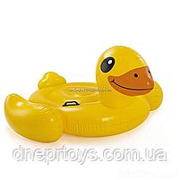Надувной плотик матрас Intex «Желтая уточка» 57556, фото 4