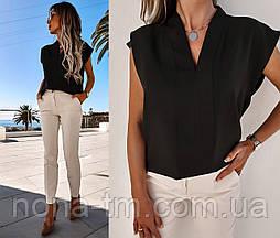 Жіноча блузка літня з коротким рукавом