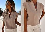 Женская блуза летняя с коротким рукавом, фото 5