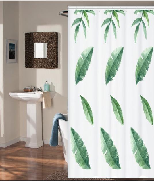 Шторка для ванной и душа Занавеска в ванную Bathlux 180 х 180 см