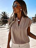 Женская блуза летняя с коротким рукавом, фото 6