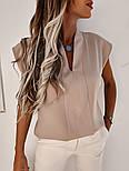 Женская блуза летняя с коротким рукавом, фото 7
