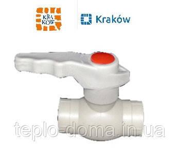 Кран кульовий для гарячої води  D63