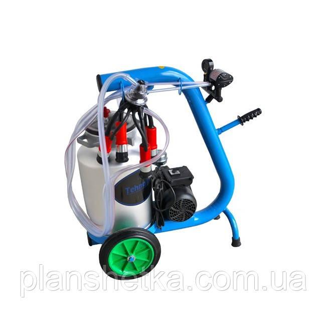 Доїльний апарат для корів Tehnomur D1-1T (бак 40 л)