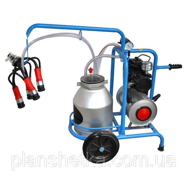 Доильный аппарат для коров Tеhnomur DO1-1T (бак 30 л.)