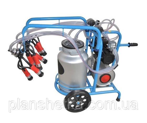 Доїльний апарат для корів Tehnomur DO2-1T (бак 40 л), фото 2