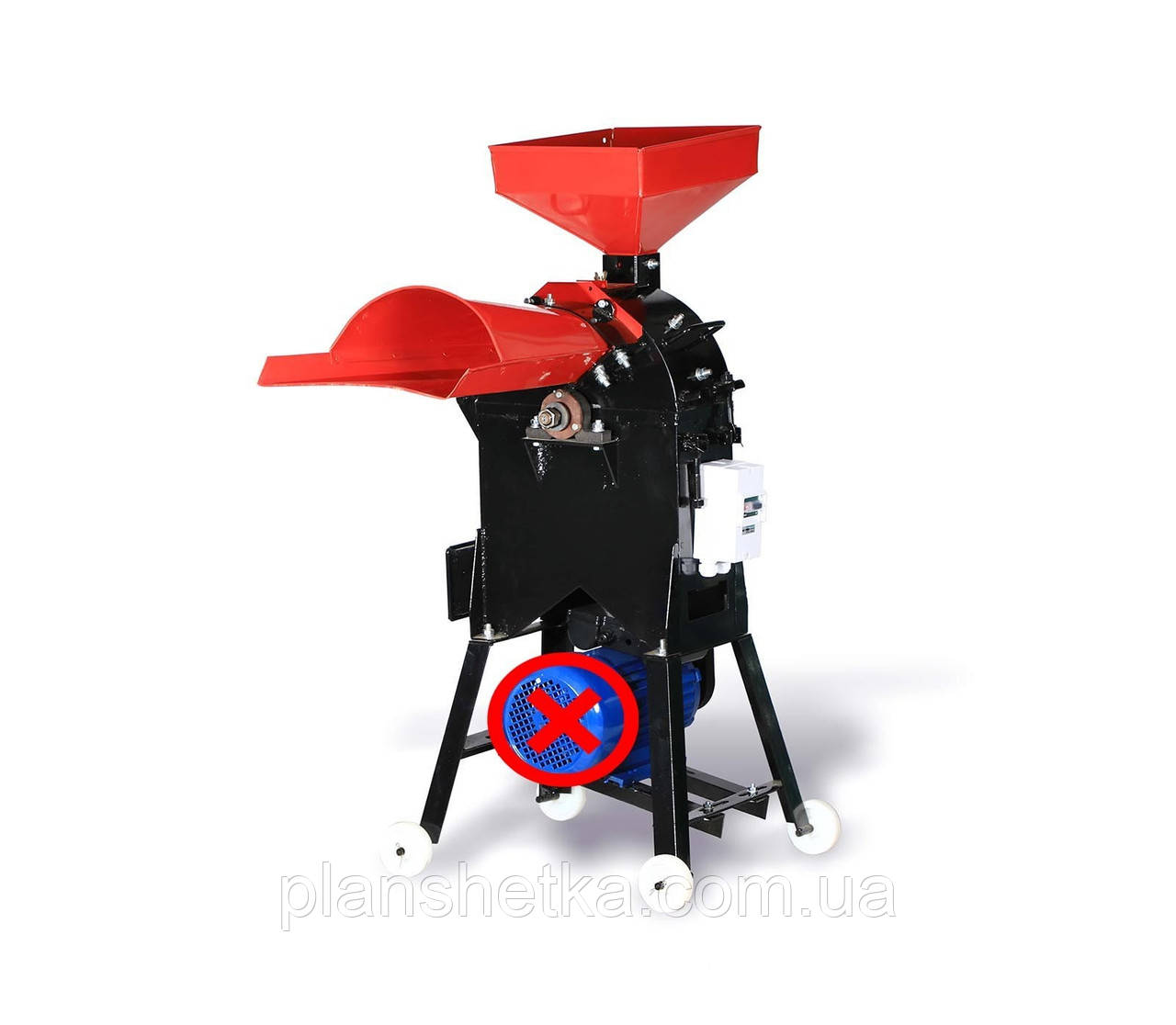 Подрібнювач кормів (зернодробарки, ДКУ) Tehnomur MS-30A (без мотора)