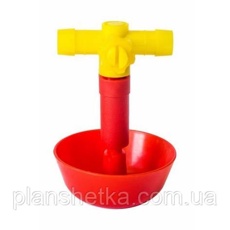 Поїлка чашкова для птиці Tehnomur A-181/A-25, фото 2