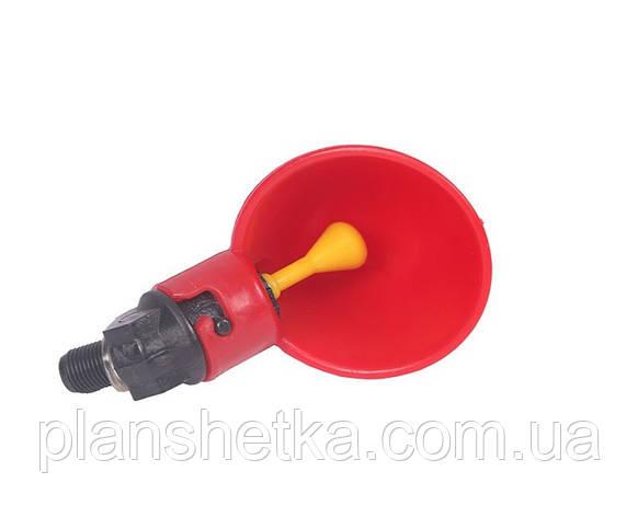 Поїлка чашкова для птиці Tehnomur A-199, фото 2