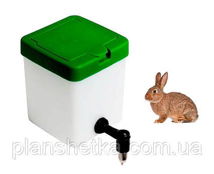 Поилка для кроликов Tehnomur 0.5 л., фото 2
