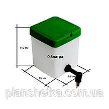 Поилка для кроликов Tehnomur 0.5 л., фото 3