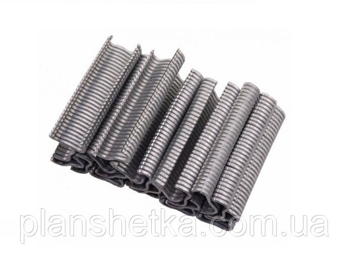 Скоби металеві Tehnomur тип M 600 шт.