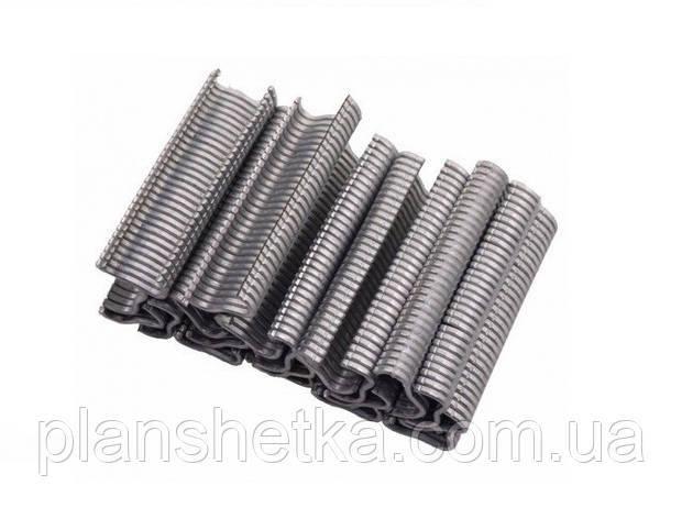 Скобы металлические Tehnomur тип M 600 шт., фото 2