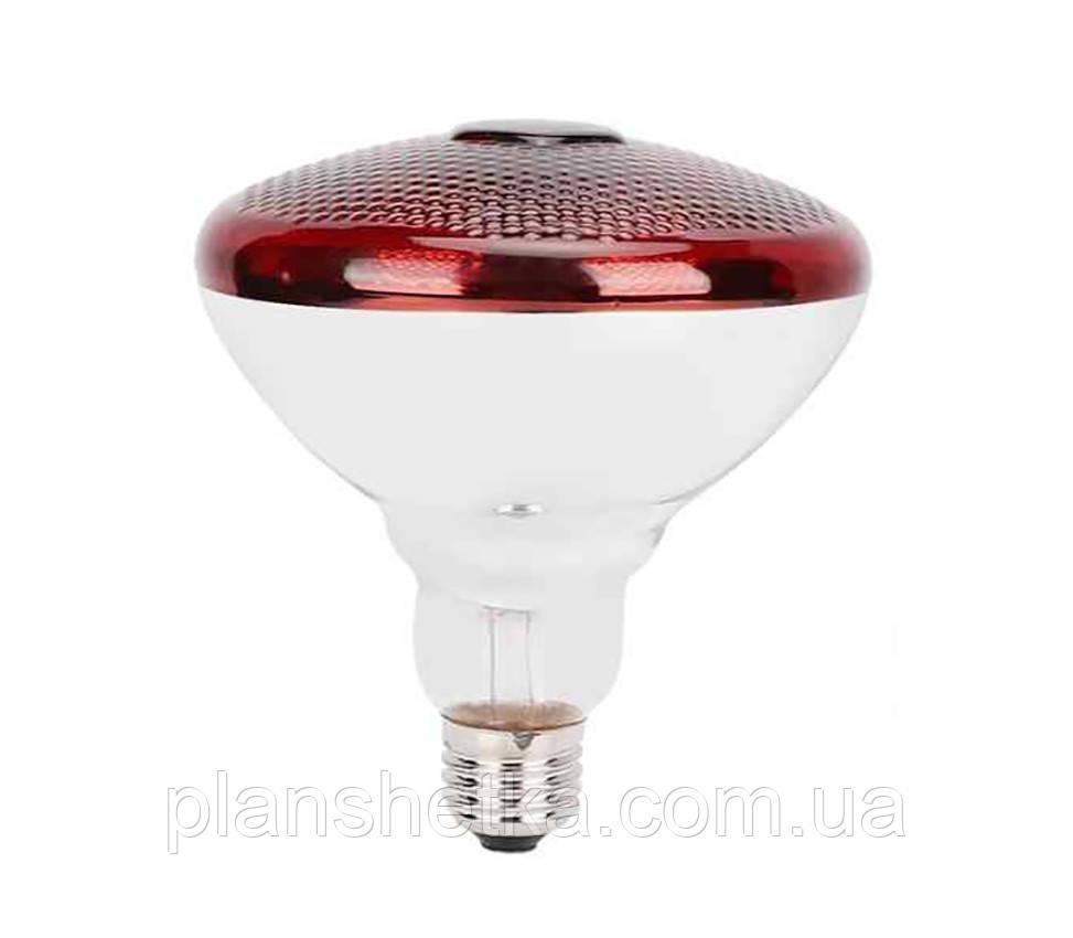 Лампа инфракрасная Tehnomur PAR38  цвет стекла красный 150 Вт