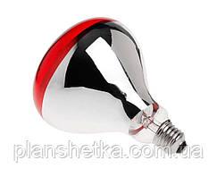 Лампа інфрачервона Tehnomur R125 колір скла червоний 150 Вт