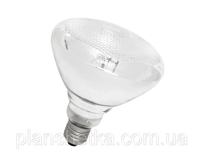 Лампа инфракрасная Tehnomur PAR38  цвет стекла белый 250 Вт