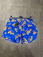 Плавательные шорты Palm Angels Bear Blue