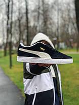 Кросівки натуральна замша Puma Suede Пума Суеде (41,42,44,45), фото 2