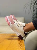 Кросівки натуральна шкіра Puma Cali Remix Пума Калі Ремікс (36,37,38), фото 2