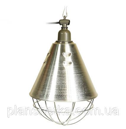 Рефлектор для инфракрасной лампы (абажур) Tehnomur  S1020  цвет алюминий, фото 2