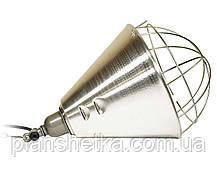 Рефлектор для інфрачервоної лампи (абажур) Tehnomur S1020 колір алюміній, фото 2