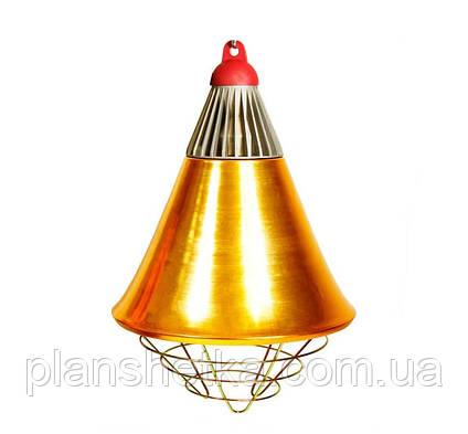Рефлектор для инфракрасной лампы (абажур) Tehnomur  S1021 цвет  бронзовый, фото 2