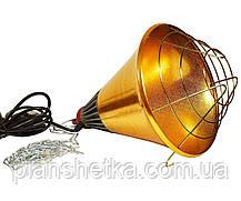 Рефлектор для инфракрасной лампы (абажур) Tehnomur  S1021 цвет  бронзовый, фото 3